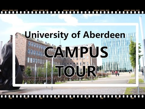 University of Aberdeen: Campus Tour (Vlog ala Vina eps. 1)