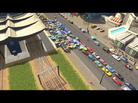 Cities Skylines Nightmare Traffic Jam