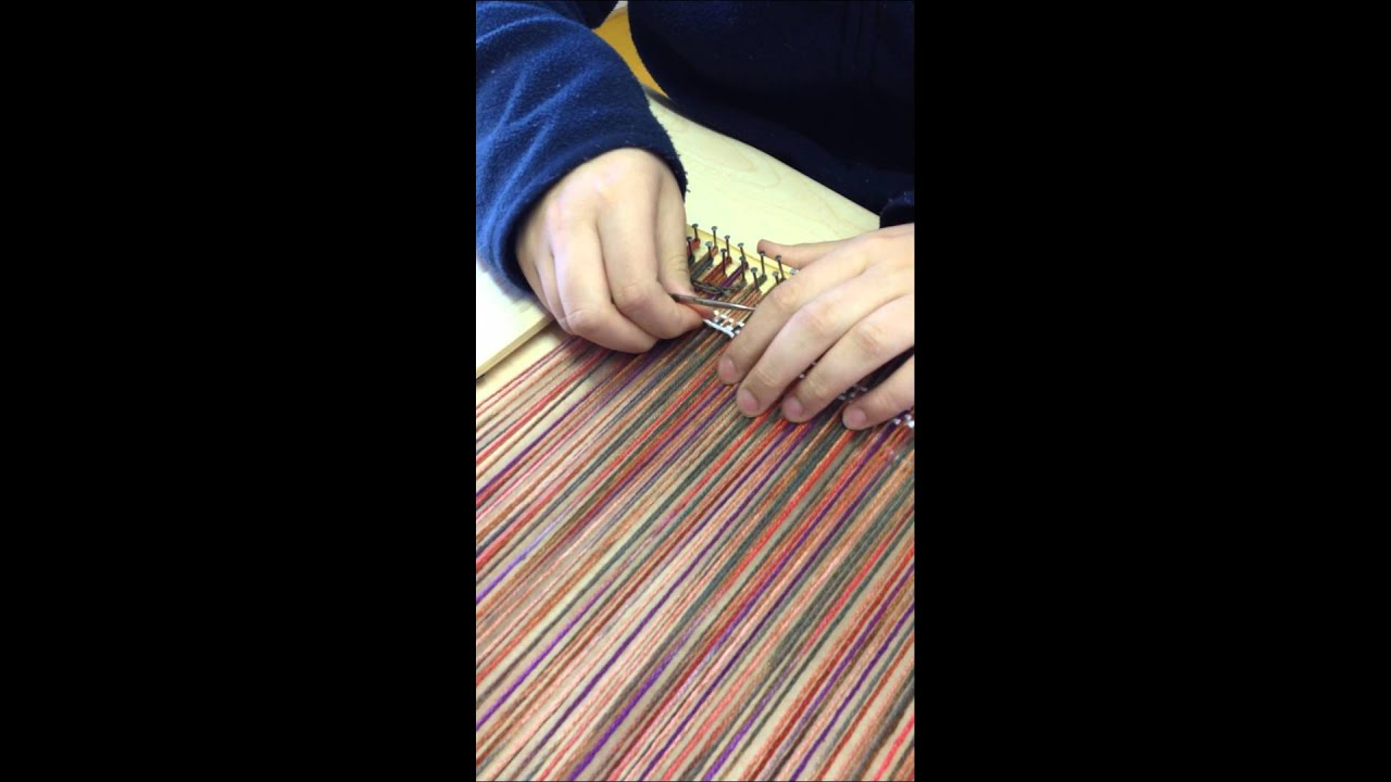 High Quality Tapestry Weaving On A Simple Frame Loom