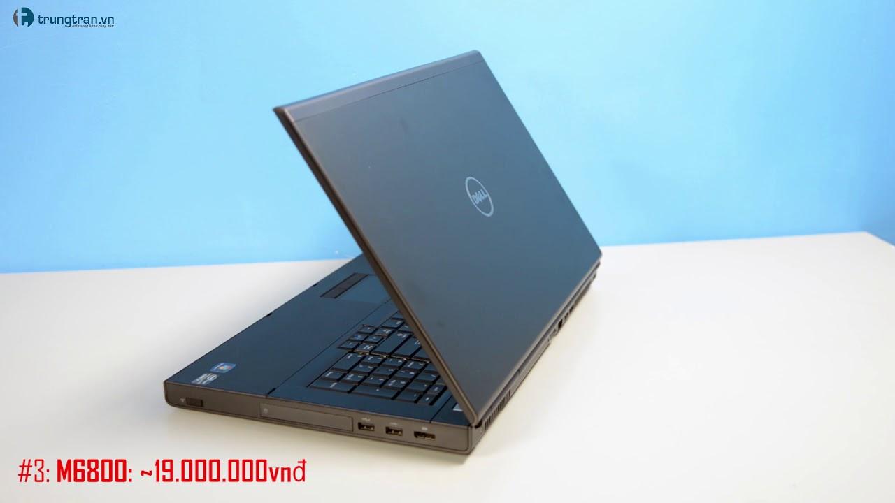 Top 3 laptop máy trạm Dell Workstation đáng mua nhất đầu năm 2018 tại trungtran.vn
