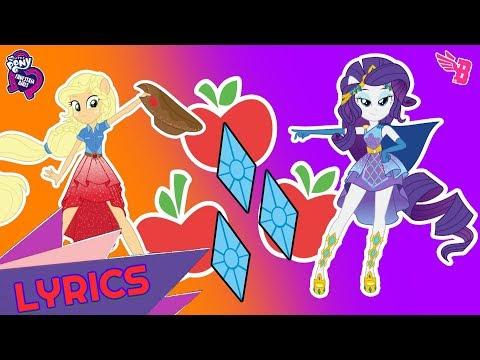 MLP: Equestria Girls - Roller Coaster of Friendship - Photo Booth Song [Lyrics] [HD]