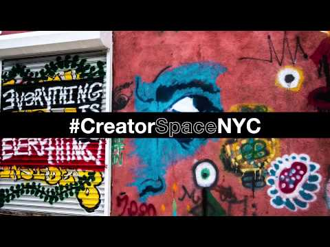Creator Space tour NYC: Cultural events