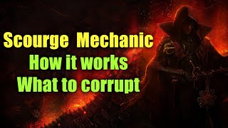 Scourge League Mechanic - H๐w it Works, What to Corrupt (PoE 3.16)