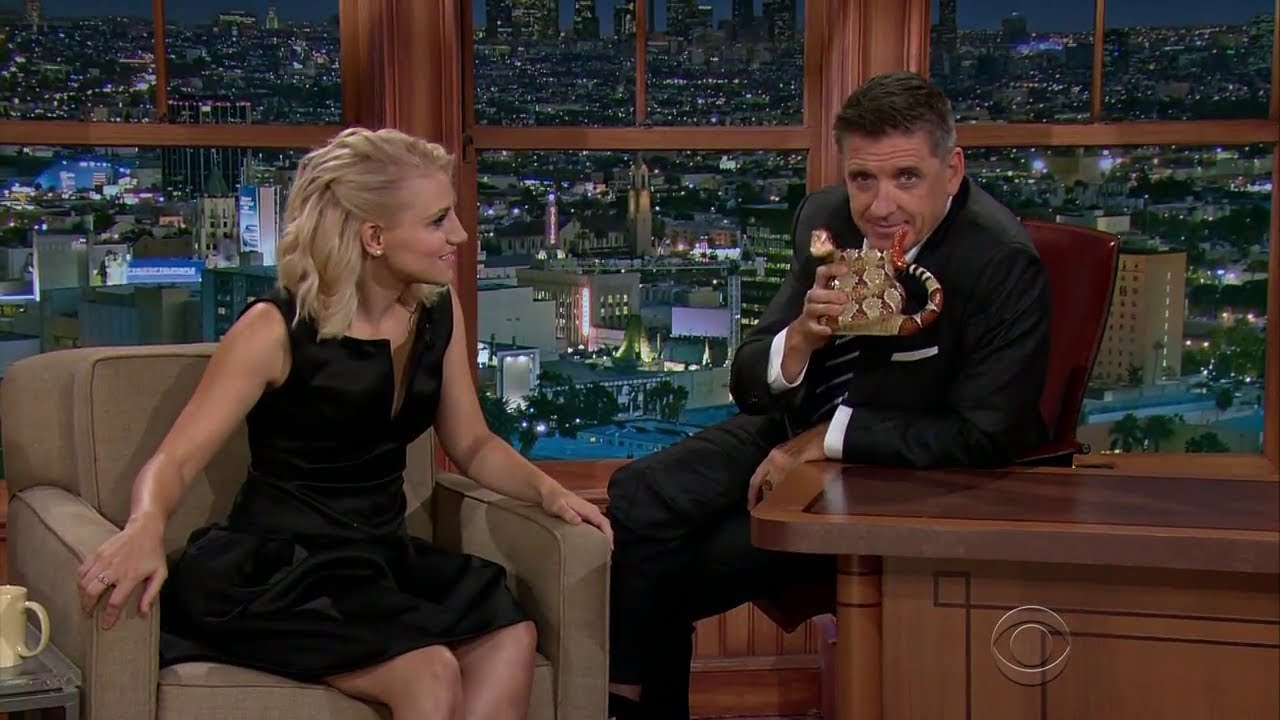 Late Late Show with Craig Ferguson 9/1/2014 Ray Liotta, Annaleigh Ashford