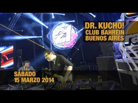 Dr. Kucho! tour por Argentina. Club Bahrein, Buenos Aires 15 Marzo 2014