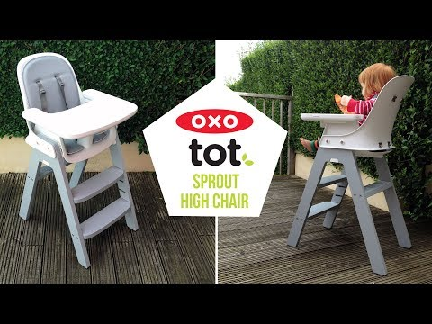 OXO Tot Sprout High Chair Video Demonstration Baby Mode + Cleaning – A Mum Reviews