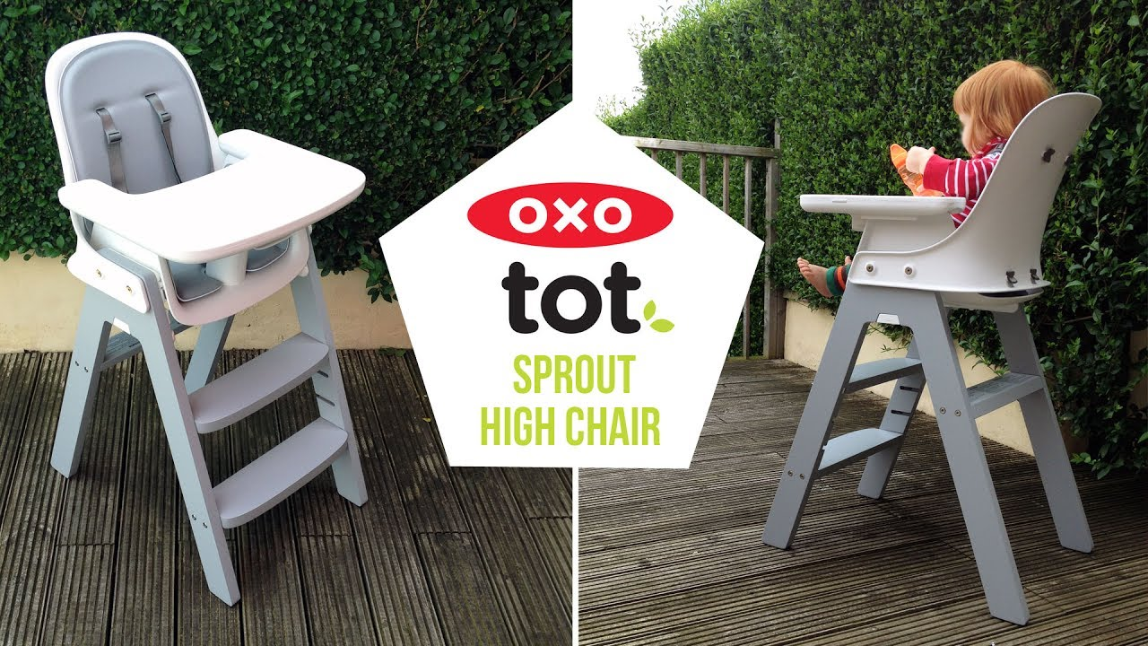 OXO Tot Sprout High Chair Video Demonstration Baby Mode + Cleaning - A Mum Reviews & OXO Tot Sprout High Chair Video Demonstration Baby Mode + Cleaning ...