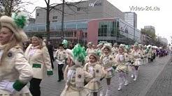 Die Duisburger Jecken sind schonmal los - sie erwecken den Hoppeditz in Duisburg,10.11.2012