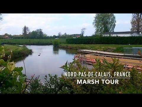 Audomarois Marsh Tour, Clairmarais, Nord-Pas-de-Calais, France