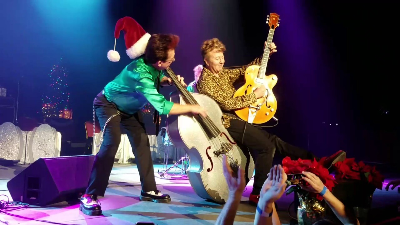 brian setzer orchestra 2016 christmas tour stray cats fishnet stockings live youtube. Black Bedroom Furniture Sets. Home Design Ideas