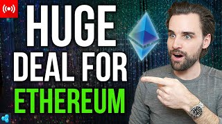 🔴LIVE: This Is HUGE For Ethereum!
