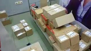 Сегодня 118 посылок со светодиодными лампами