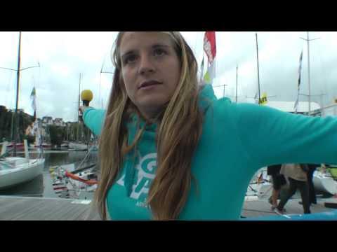 Mini Transat 2015 dockside tour with Nikki Curwen Part 1