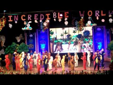 PJK Nerul, Annual Day 2017 - Jumbo's Incredible World, Performance by L3 A