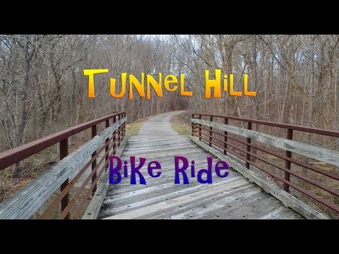 Biking the Tunnel Hill State Trail in Southern Illinois