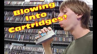 Does Blowing Into An NES Cartridge Help?