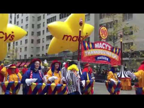 The 90th Macy's Thanksgiving Day Parade Part 1