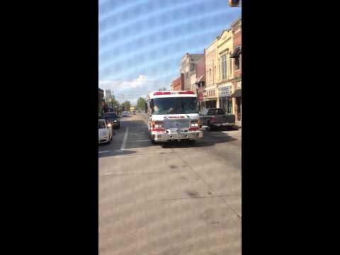 Orrville Fire Department Ohio rescue 63