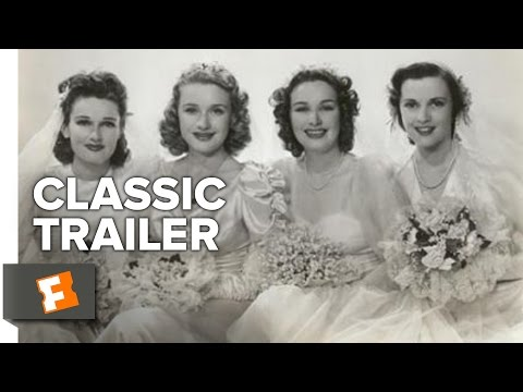 Four Wives (1939) Official Trailer - Priscilla Lane, Rosemary Lane Movie HD