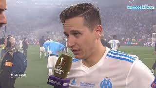 OM - Atletico Madrid : La réaction de Florian Thauvin (Finale de la Ligue Europa)