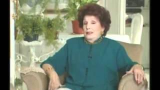 Libertad Lamarque habla de Eva Peron