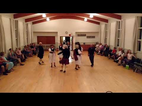 Vancouver Island Scottish Country Dance Society Demo Team
