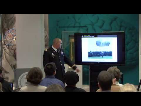 "150324 A MP902 014 NMHM Medical Museum Science Cafe: ""Protecting the Brain in Combat"""