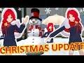 [School Girls Simulator] NEW DANCE & SANTA'S HOOD [CHRISTMAS UPDATE 9.12.2018]