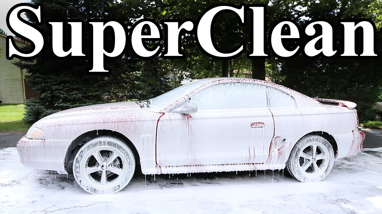 how to super clean your car best clean possible youtube. Black Bedroom Furniture Sets. Home Design Ideas