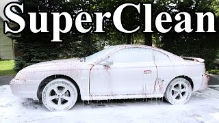 cleaning the dirtiest car