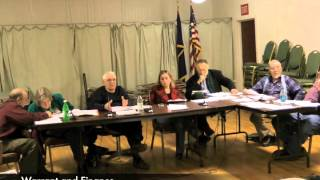 Warrant and Finance - 03-24-2015