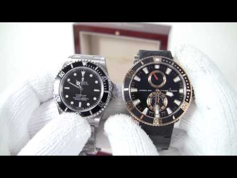 Whats in the box? Ulysse Nardin Marine Diver