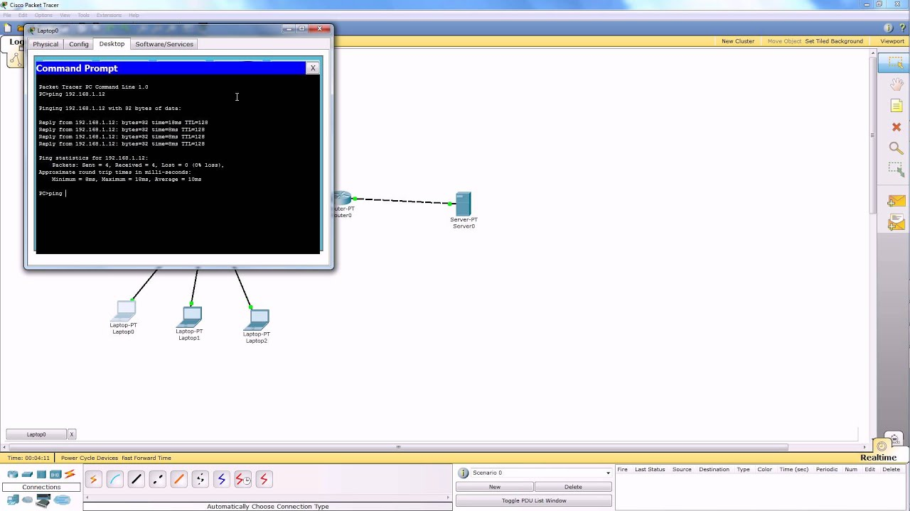 Tutorial Firewall Packet Tracer HD - YouTube