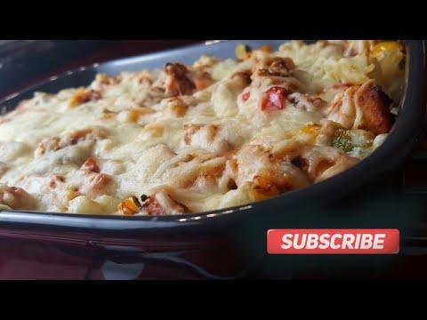Chicken Cheese Pasta | Eassy Chicken Pasta | How To Make Chicken Pasta | Non Vegetarian Pasta Recipe