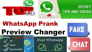 TOP 10 Cool New WHATSAPP Tricks 2017 you Should Try