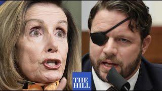 JUST IN: Dan Crenshaw TORCHES Pelosi in blistering House floor speech