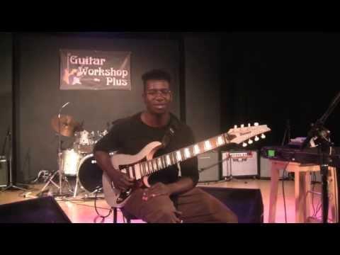 Tosin Abasi at Guitar Workshop Plus