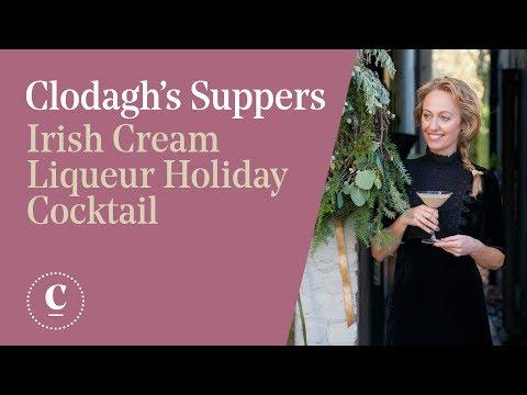 Irish Cream Liqueur Cocktail