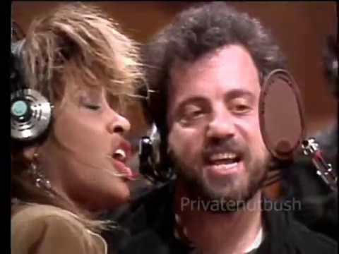 Tina Turner -  Recording We Are the World -  Alternate takes