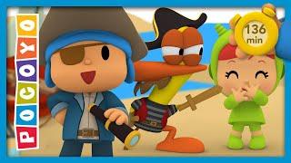 ☠️ POCOYO & NINA EPISODIOS COMPLETOS - ¡Piratas a bordo! 136 min | CARICATURAS y DIBUJOS ANIMADOS