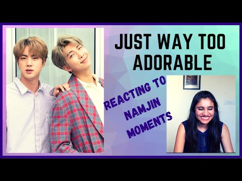 NAMJIN Moments Reaction | Reacting to Namjin moments that i dreamed about every night | Too cute