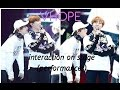 VHOPE interaction on stage performances 〡BTS title songs