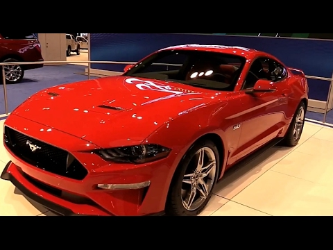 2018 ford mustang ecoboost uk exterior and interior first impression look in 4k youtube. Black Bedroom Furniture Sets. Home Design Ideas