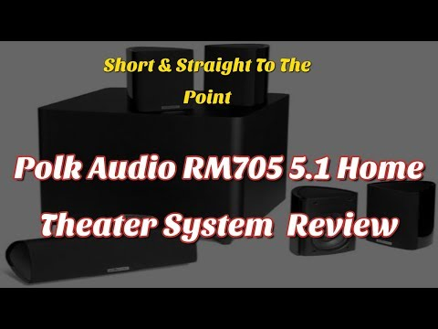 Polk Audio RM705 5.1 Home Theater System (Set of Six, Black) Review