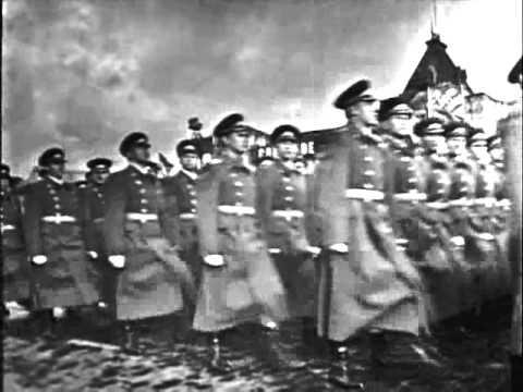 Soviet October Revolution Parade, 1965 Парад 7 Ноября