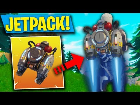 WHERE TO FIND THE JETPACK! NEW JETPACK ITEM GAMEPLAY! FORTNITE UPDATE 4.2 (Fortnite: Battle Royale)