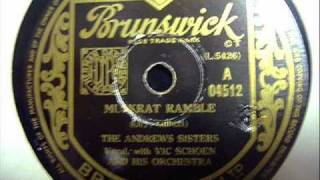 Muskrat Ramble - The Andrews Sisters