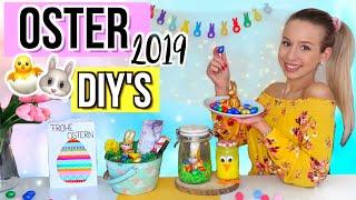 DIY OSTERGESCHENKE & DEKO 🐥 schnelle und einfache Geschenkideen zu Ostern 2019