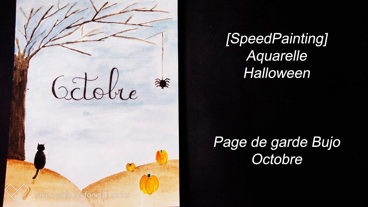 Speedpainting Halloween Youtube