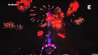 Feu d'artifice 14 juillet 2015 Paris Tour Eiffel - Skyfall HD 1080p